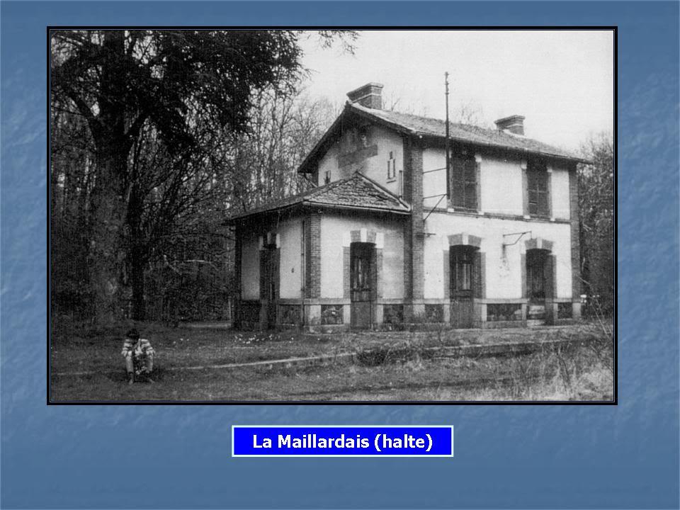 Ligne de La Chapelle sur Erdre - Blain - Beslé (1901-1910-1952) 28-HalteLaMaillardaisDmentele