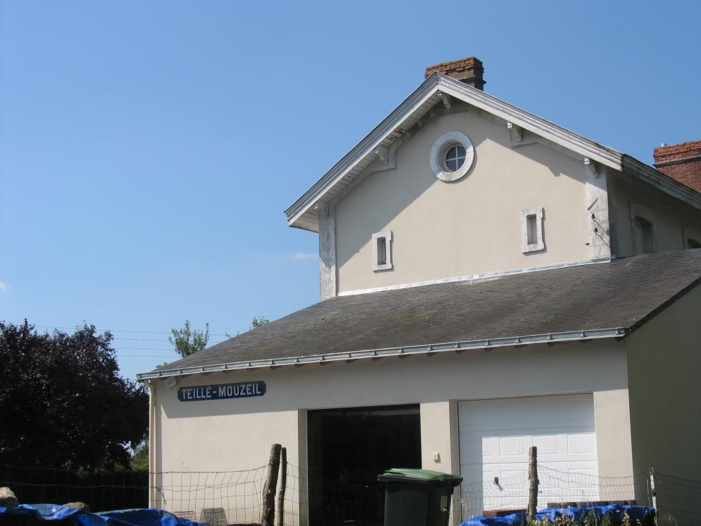 Ligne de Nantes - Segré (1185-1988) Voie Verte de Carquefou à St Mars la Jaille  28-Teill-Mouzeilpignon2niches