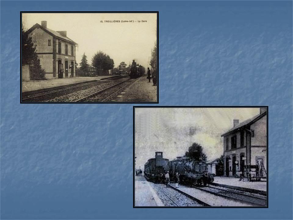Ligne de La Chapelle sur Erdre - Blain - Beslé (1901-1910-1952) 3-CarteancTreillires
