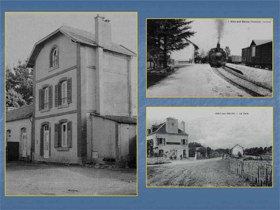 Ligne de Quimperlé-Pont-Aven-Concarneau (1903-1908-1909-1936) 3-Riec