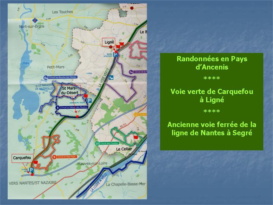 Ligne de Nantes - Segré (1185-1988) Voie Verte de Carquefou à St Mars la Jaille  3-VoievertedeCarquefouLign