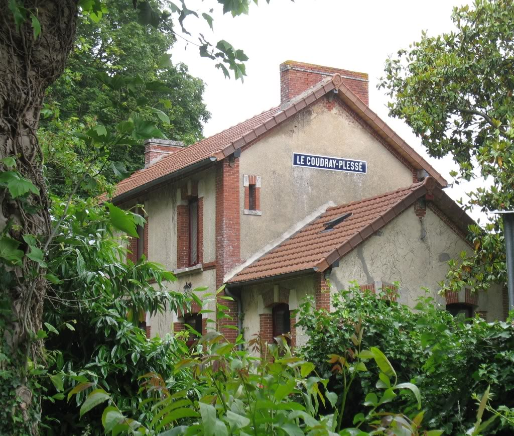 Ligne de La Chapelle sur Erdre - Blain - Beslé (1901-1910-1952) 31-LeCoudrayPlessniches