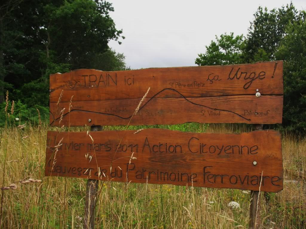 Ligne de St Hilaire de Chaléons à Paimboeuf de 1876 à nos jours 32-LaSicaudais-Frossay