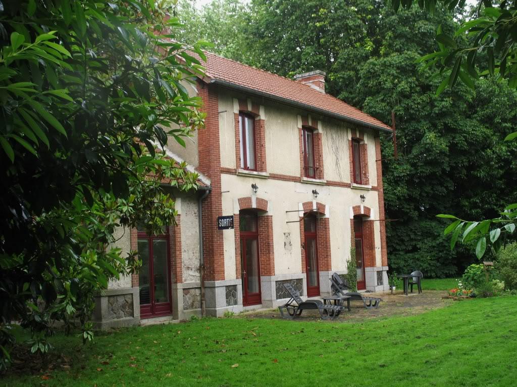 Ligne de La Chapelle sur Erdre - Blain - Beslé (1901-1910-1952) 32-LeCoudrayPlessctvoiessortie