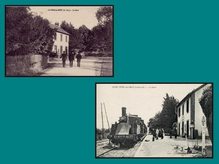 Ligne de St Hilaire de Chaléons à Paimboeuf de 1876 à nos jours 33-CartespostalesanciennesStPreenRetz