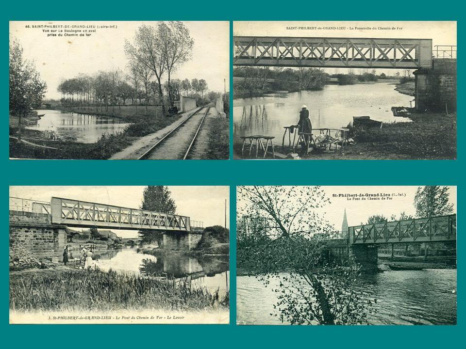 Ligne de Nantes-Legé de gare en gare (1893-1935) 34-pontsurlaboulognestphilbert-23m-1