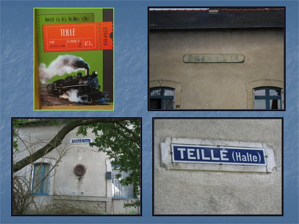 Ligne de Nantes - Segré (1185-1988) Voie Verte de Carquefou à St Mars la Jaille  35-DtailsdelahaltedeTeill