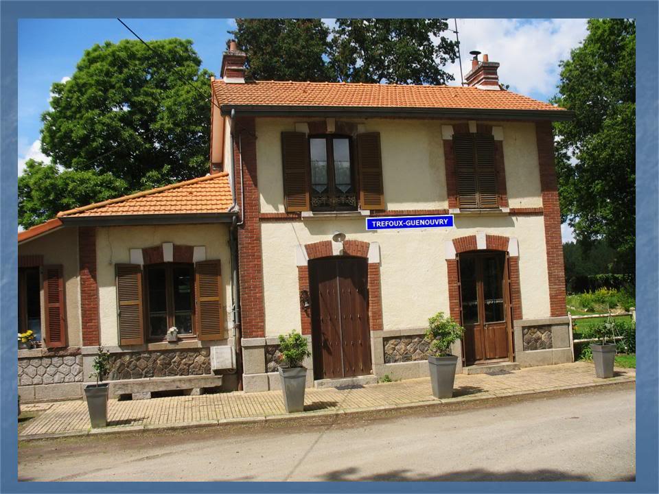 Ligne de La Chapelle sur Erdre - Blain - Beslé (1901-1910-1952) 36-Trfouxavecplaques