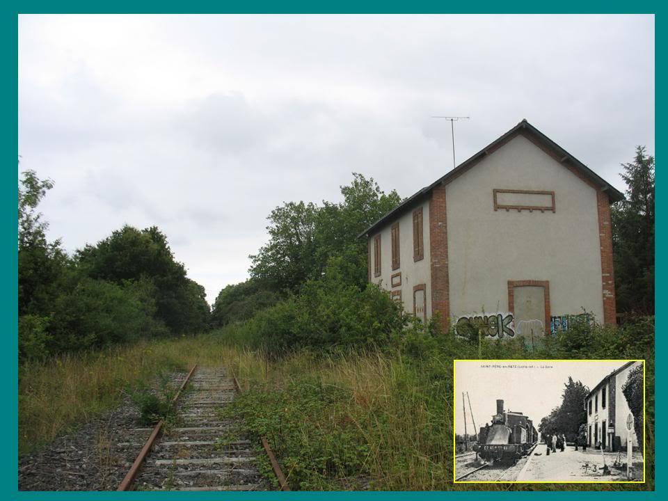 Ligne de St Hilaire de Chaléons à Paimboeuf de 1876 à nos jours 38-Avant-aprsStPre