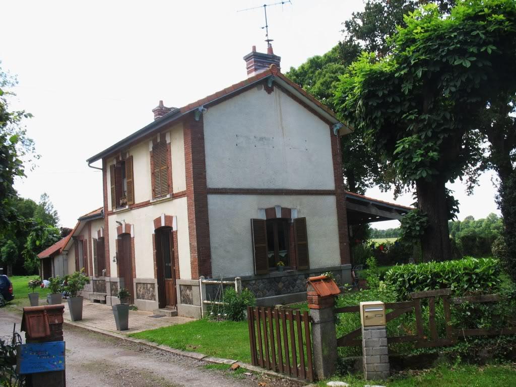 Ligne de La Chapelle sur Erdre - Blain - Beslé (1901-1910-1952) 39-Trfouxctparking