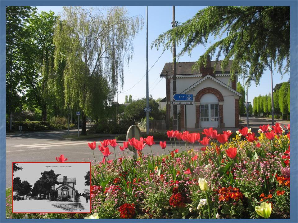 Ligne de Nantes - Segré (1185-1988) Voie Verte de Carquefou à St Mars la Jaille  4-Avant-aprsAvenuedelagareetRueduMtropolitain