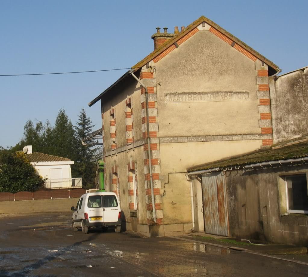 Ligne Les Sorinières (44) à Rocheservière (85) de gare en gare (1903-1938) 4-Montbert-Geneston5