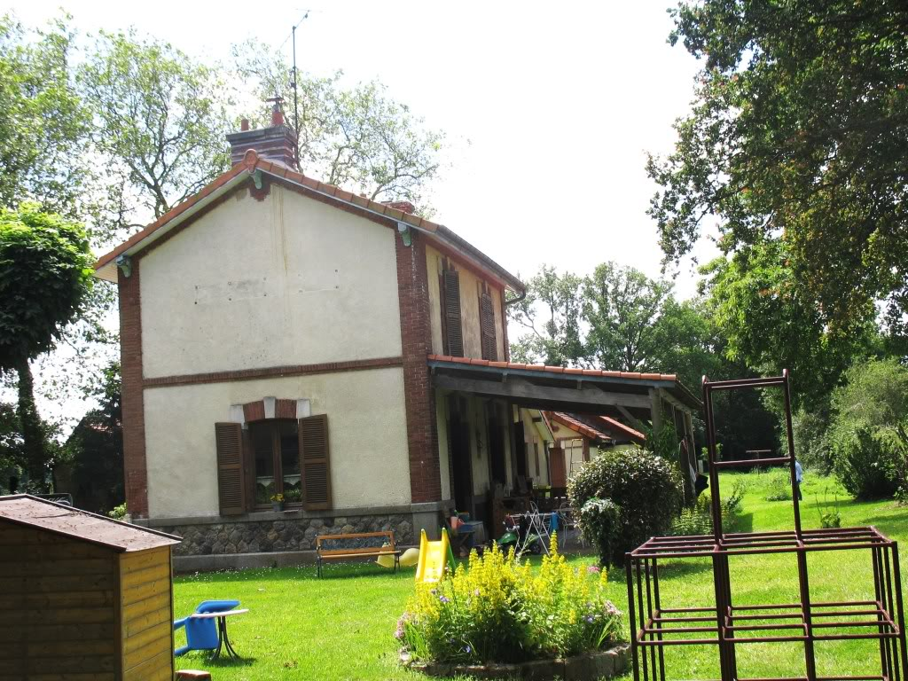 Ligne de La Chapelle sur Erdre - Blain - Beslé (1901-1910-1952) 40-TrefouxctvoiesversCoudrayPless
