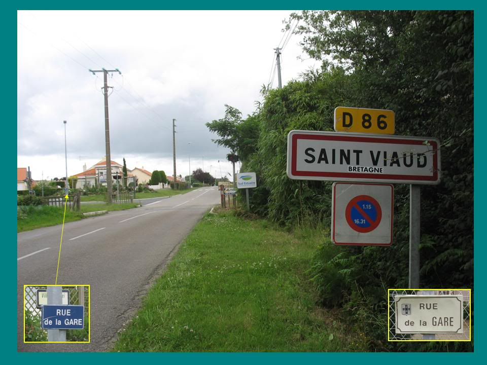 Ligne de St Hilaire de Chaléons à Paimboeuf de 1876 à nos jours 43-PN42StViaud