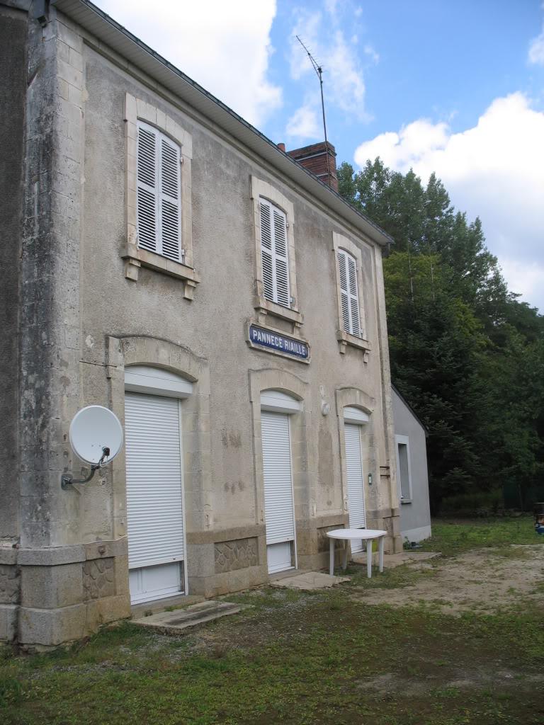 Ligne de Nantes - Segré (1185-1988) Voie Verte de Carquefou à St Mars la Jaille  43-lagarePannec-Riaillctquais