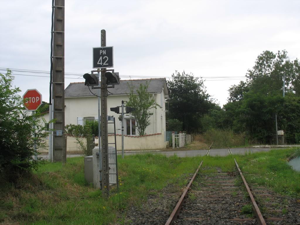 Ligne de St Hilaire de Chaléons à Paimboeuf de 1876 à nos jours 44-PN42-RD86StViaud