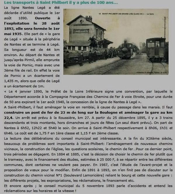 Ligne de Nantes-Legé de gare en gare (1893-1935) 46-StPhilbertdeGdLieusitedelacommune-1