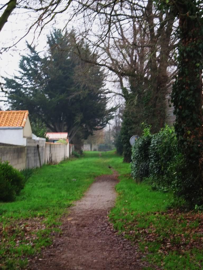 Ligne de Nantes-Legé de gare en gare (1893-1935) 46-lecheminderandonneStPhilbertversLaLimouzinire-1
