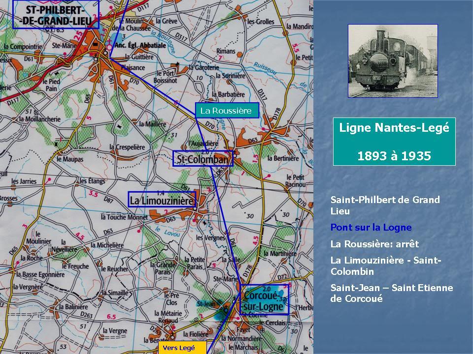 Ligne de Nantes-Legé de gare en gare (1893-1935) 47-CarteStPhilbert-Corcou-1
