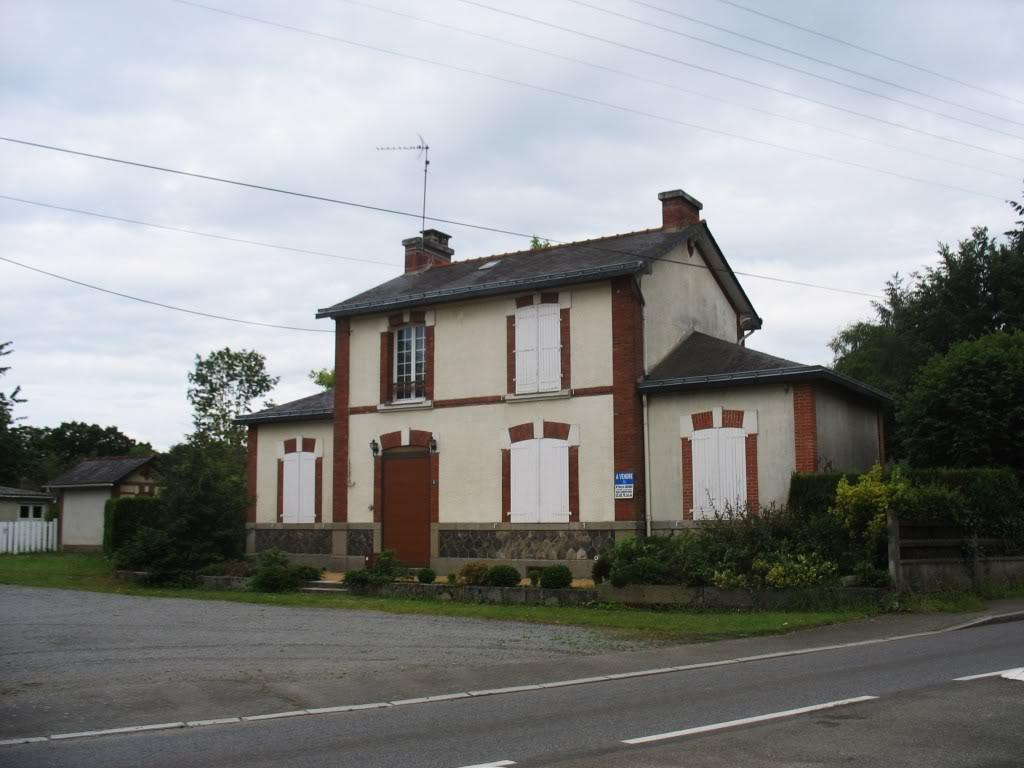 Ligne de La Chapelle sur Erdre - Blain - Beslé (1901-1910-1952) 47-GumnVille