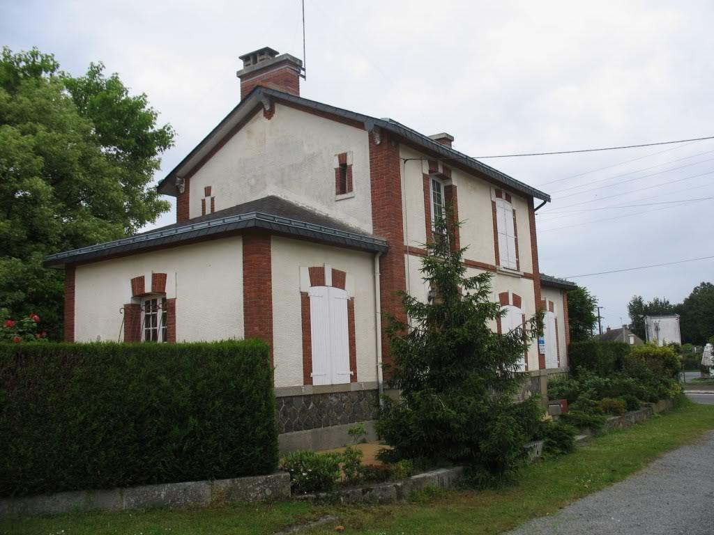 Ligne de La Chapelle sur Erdre - Blain - Beslé (1901-1910-1952) 49-Gumnville6