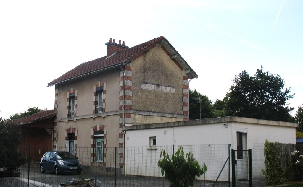Ligne Les Sorinières (44) à Rocheservière (85) de gare en gare (1903-1938) 5-LeChemindelaGareAigrefeuille7