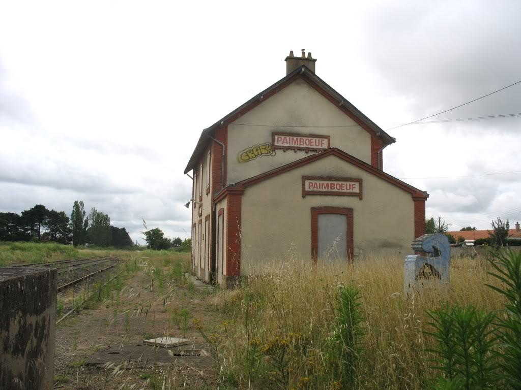 Ligne de St Hilaire de Chaléons à Paimboeuf de 1876 à nos jours 50-PaimboeufversStViaud