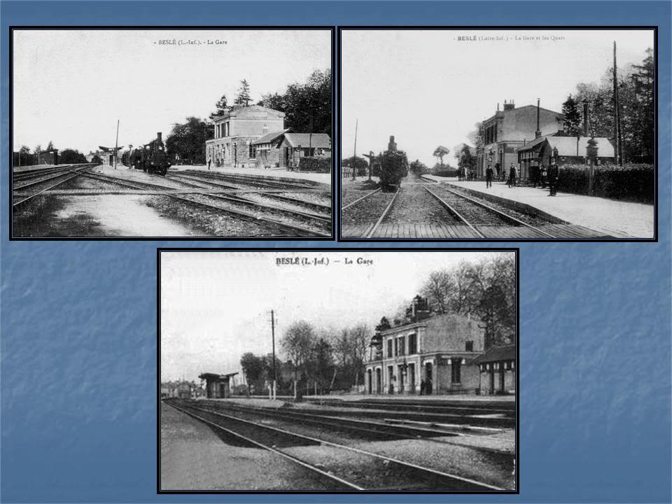 Ligne de La Chapelle sur Erdre - Blain - Beslé (1901-1910-1952) 52-cartesanciennesBesl
