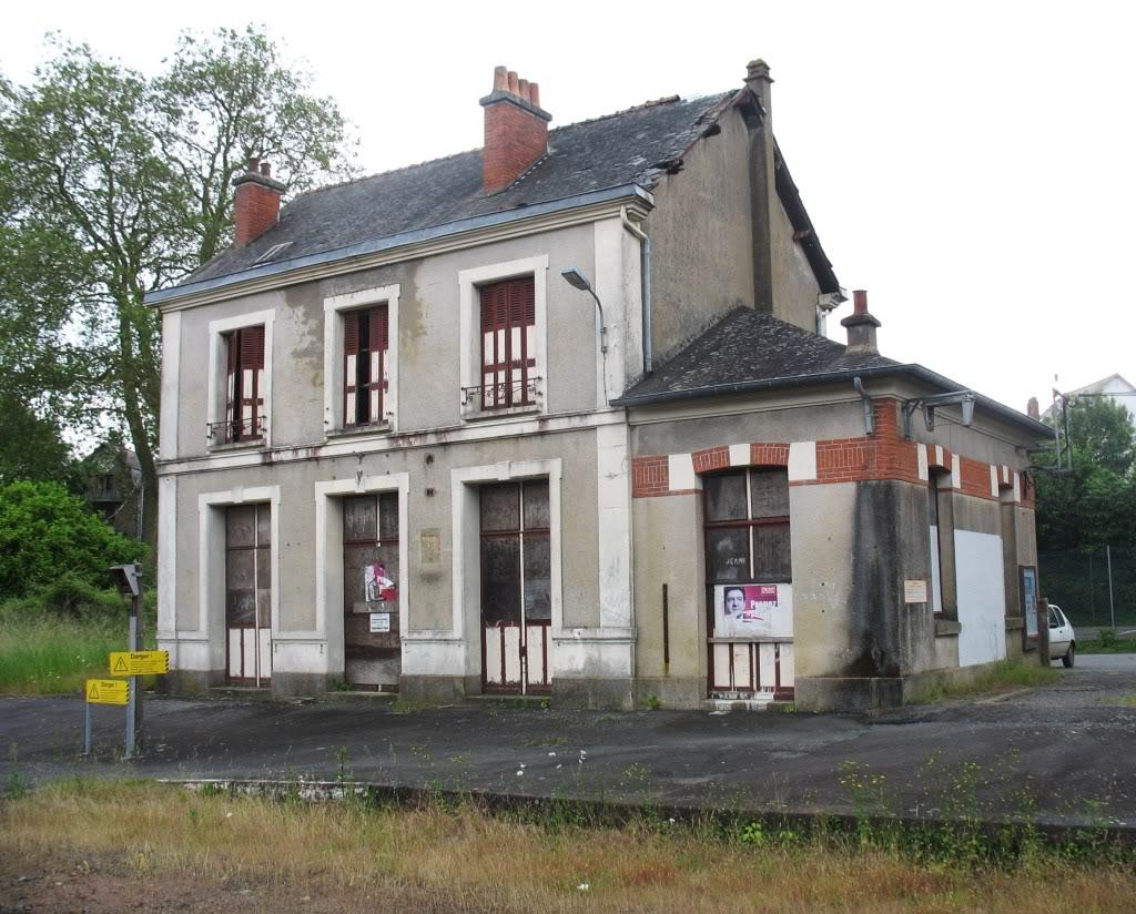 Ligne de La Chapelle sur Erdre - Blain - Beslé (1901-1910-1952) 54-Besl5