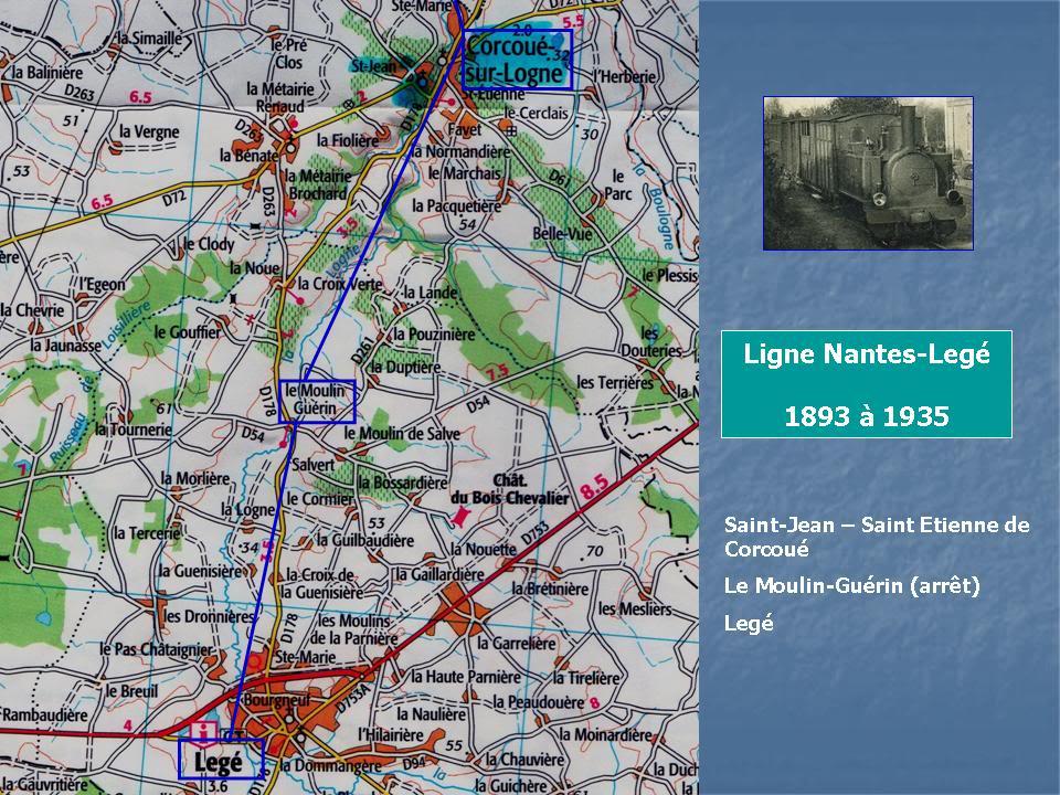 Ligne de Nantes-Legé de gare en gare (1893-1935) 54-CarteCorcou-Leg-1