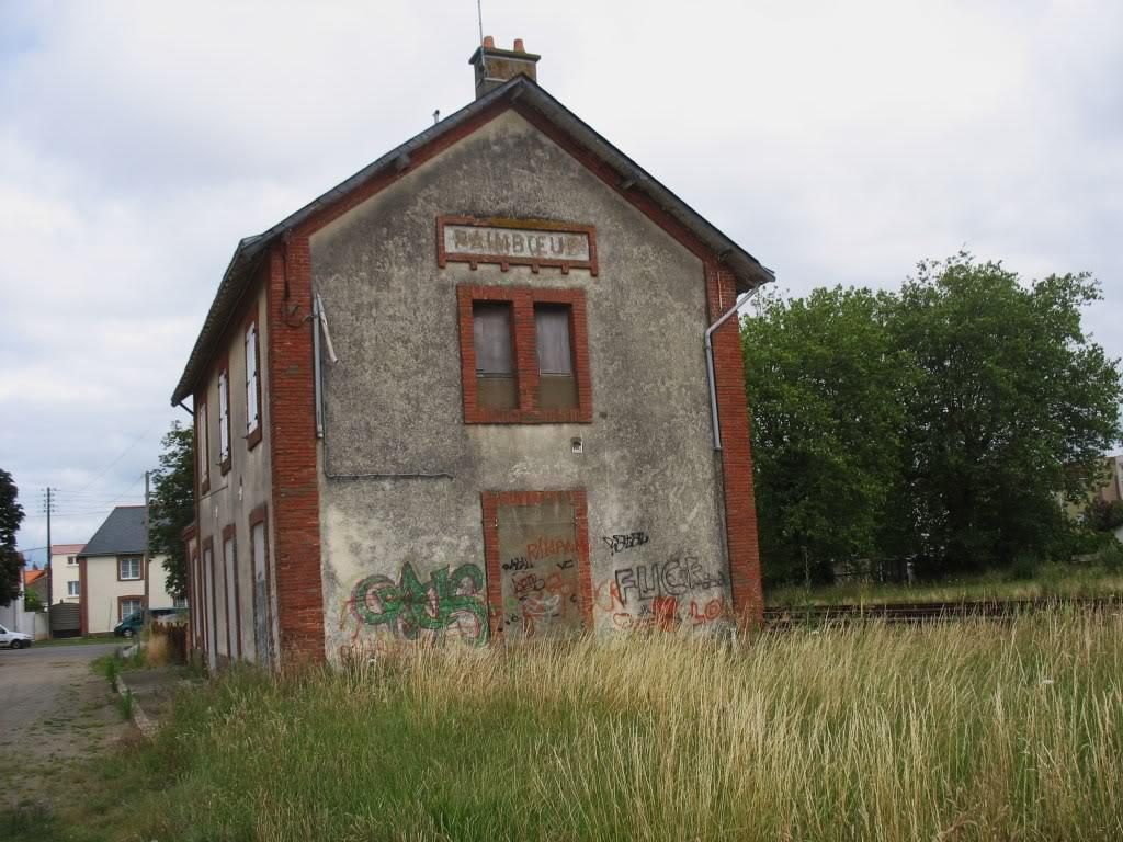 Ligne de St Hilaire de Chaléons à Paimboeuf de 1876 à nos jours 54-PaimboeuffaadeSud