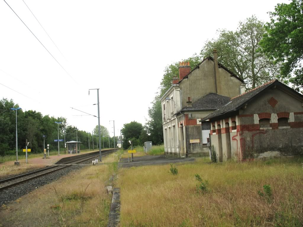Ligne de La Chapelle sur Erdre - Blain - Beslé (1901-1910-1952) 55-VersRennes