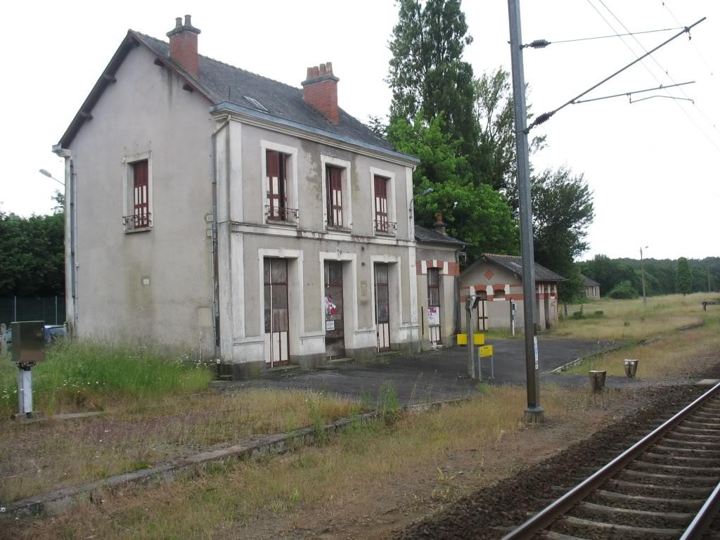 Ligne de La Chapelle sur Erdre - Blain - Beslé (1901-1910-1952) 56-LeBVdeBesl