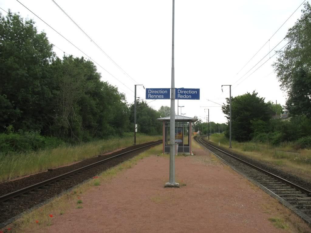 Ligne de La Chapelle sur Erdre - Blain - Beslé (1901-1910-1952) 58-Beslabridequaicentral