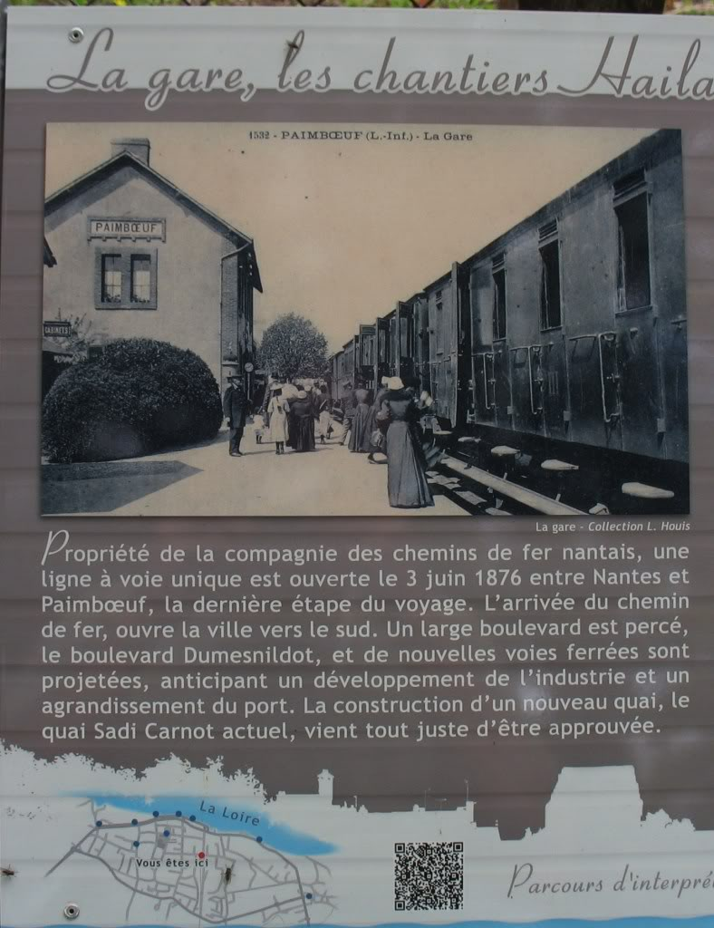 Ligne de St Hilaire de Chaléons à Paimboeuf de 1876 à nos jours 58-TabledorientationgaredePaimboeuf