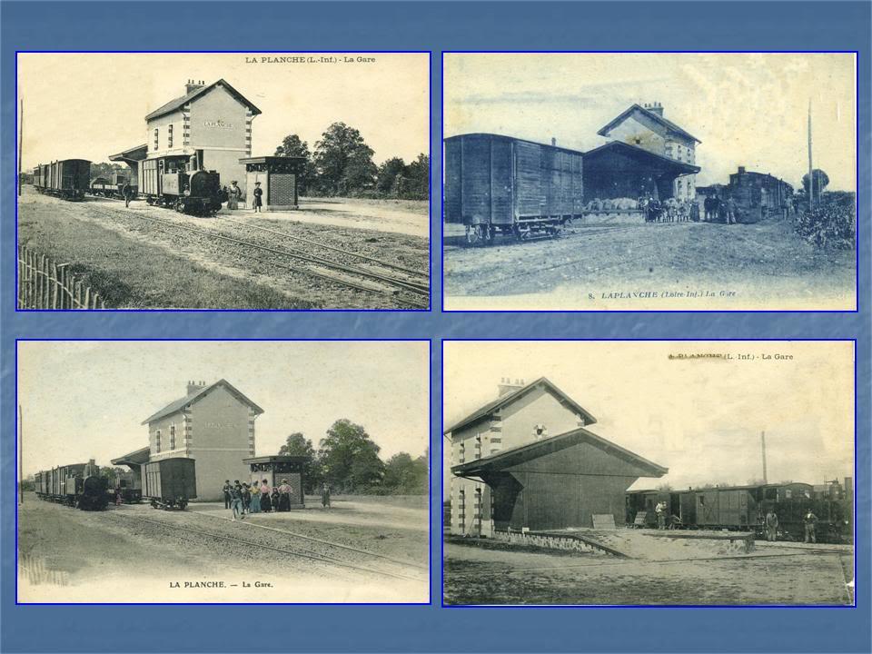 Ligne Les Sorinières (44) à Rocheservière (85) de gare en gare (1903-1938) 6-LaPlanche