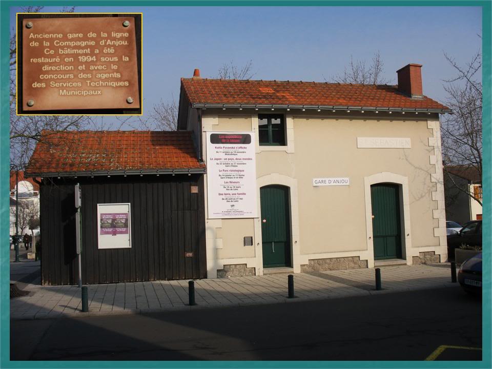 Ligne du Petit Anjou en 44 de Nantes à La Remaudière (1899-1947) 6-StSbastien