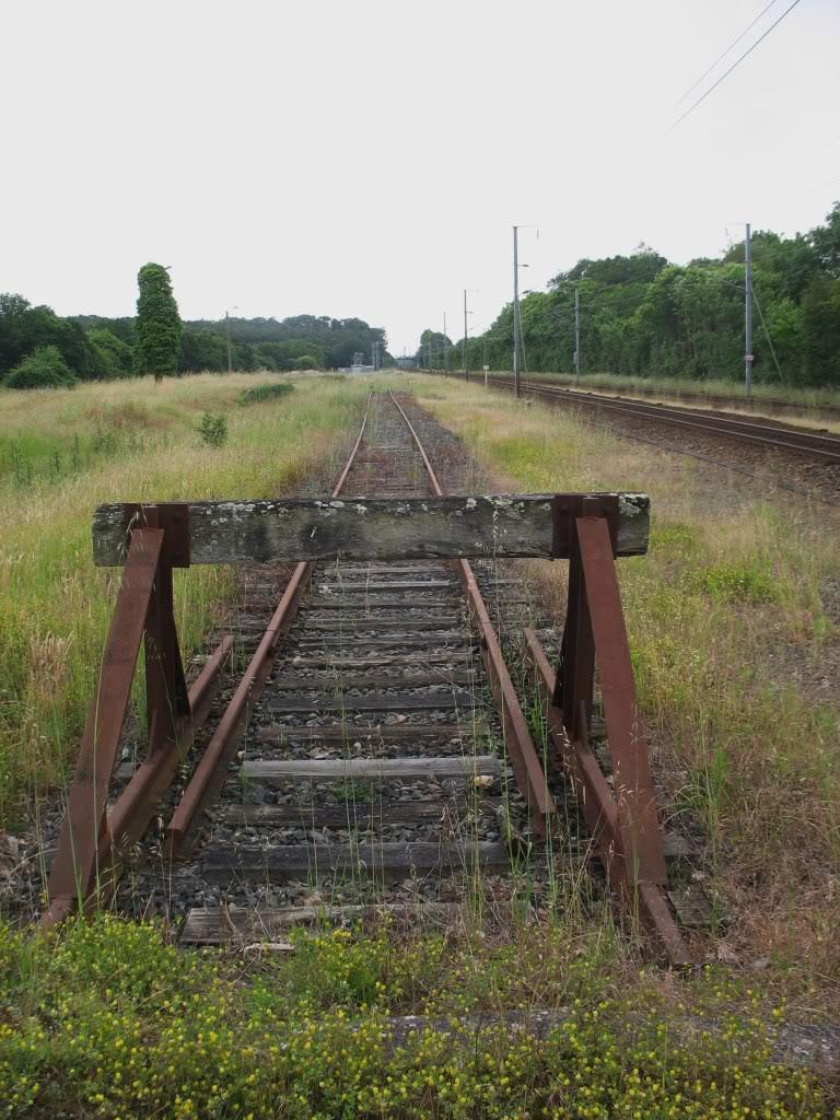 Ligne de La Chapelle sur Erdre - Blain - Beslé (1901-1910-1952) 60-Besllesanciennesvoies