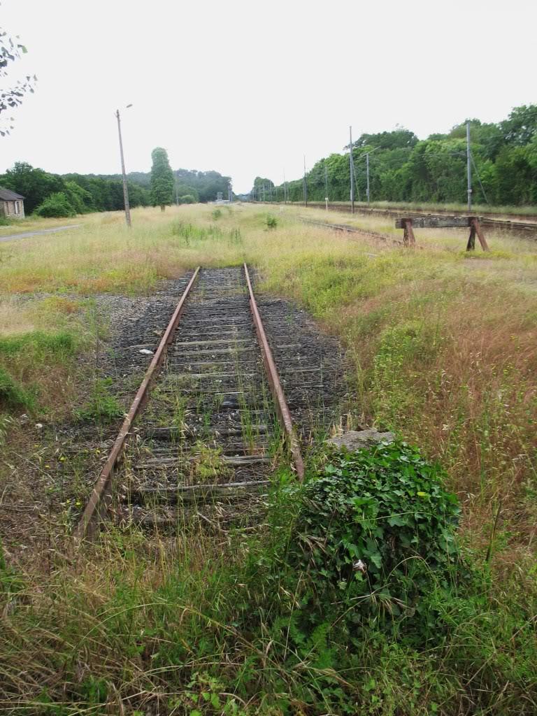 Ligne de La Chapelle sur Erdre - Blain - Beslé (1901-1910-1952) 61-Besllesanciennesvoies