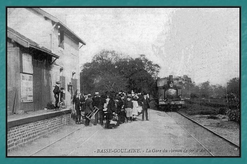Ligne du Petit Anjou en 44 de Nantes à La Remaudière (1899-1947) 8-Basse-Goulaine