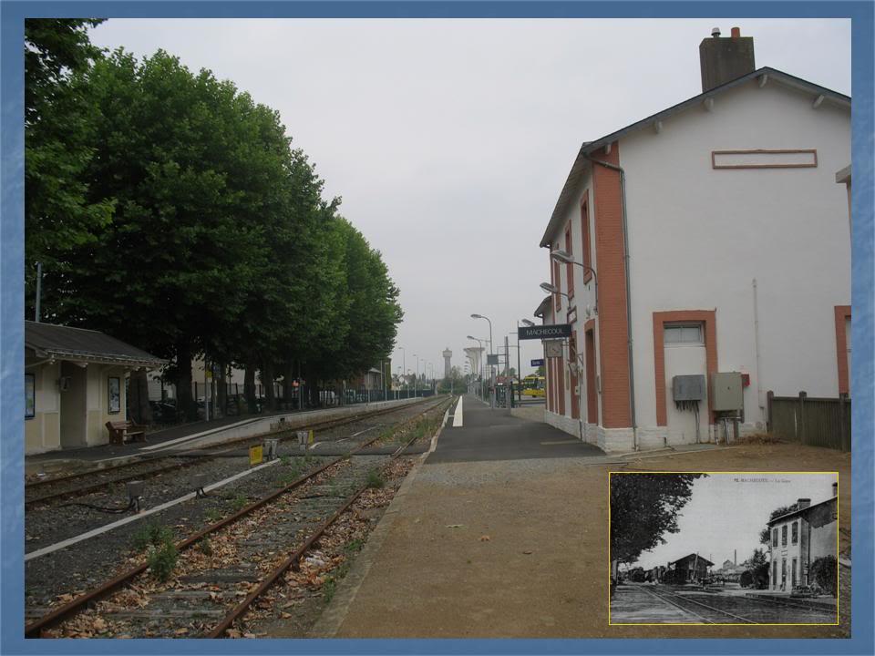 Gare de Machecoul - Ligne de Nantes-St Gilles Croix de Vie  8-avant-aprsMachecoulversStePazanne-Nantes