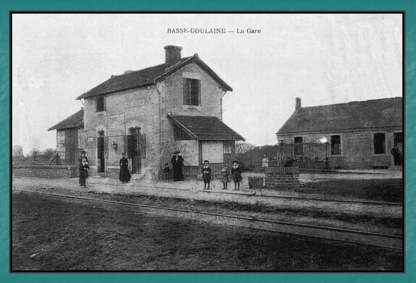 Ligne du Petit Anjou en 44 de Nantes à La Remaudière (1899-1947) 9-Basse-Goulaine