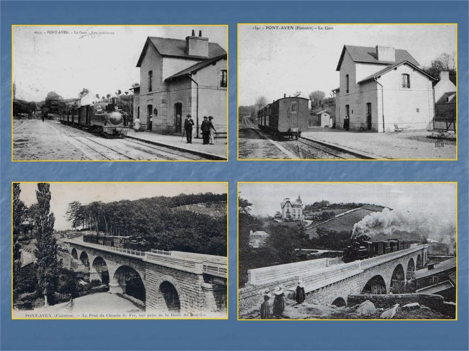 Ligne de Quimperlé-Pont-Aven-Concarneau (1903-1908-1909-1936) 9-Pont-Aven