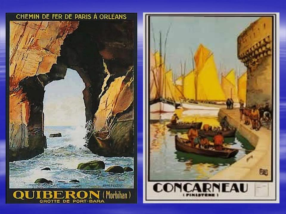 Affiches Ferroviaires de Bretagne et de l'Ouest Diapositive13-4