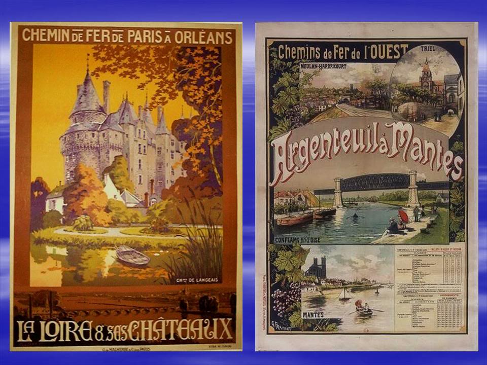 Affiches Ferroviaires de Bretagne et de l'Ouest Diapositive15-3
