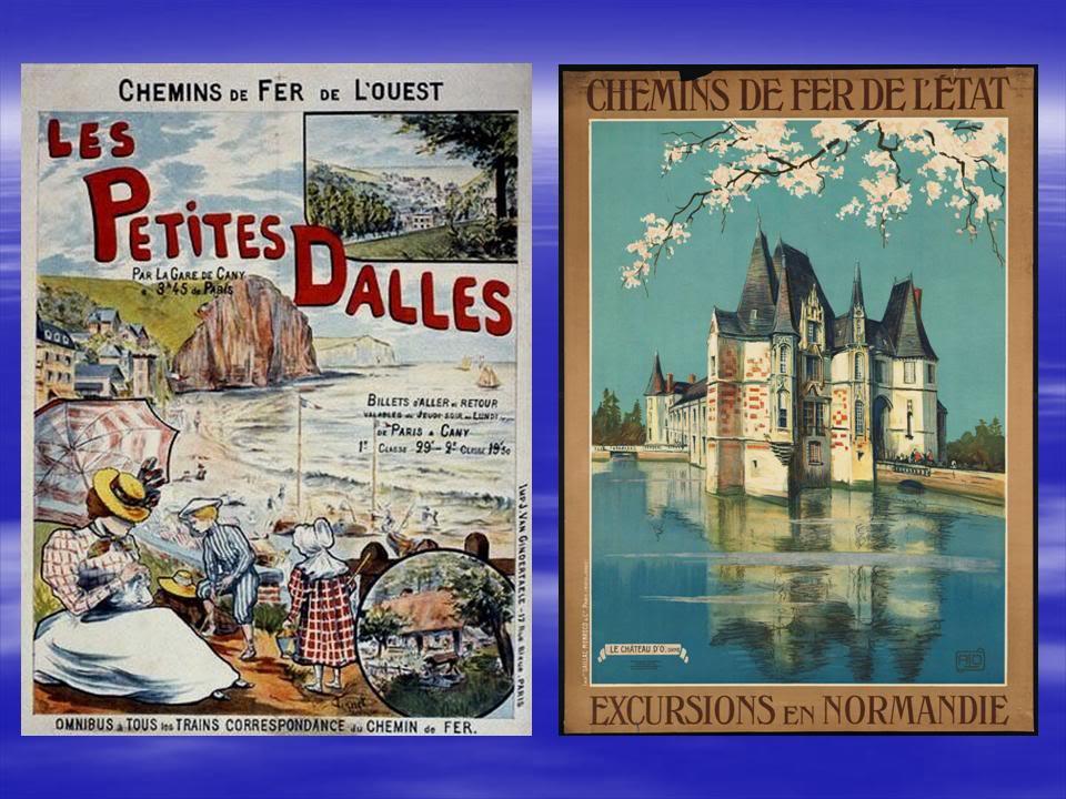 Affiches Ferroviaires de Bretagne et de l'Ouest Diapositive19-3