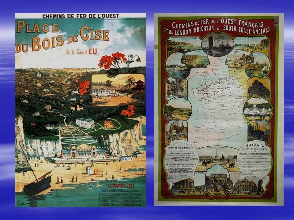 Affiches Ferroviaires de Bretagne et de l'Ouest Diapositive20-3