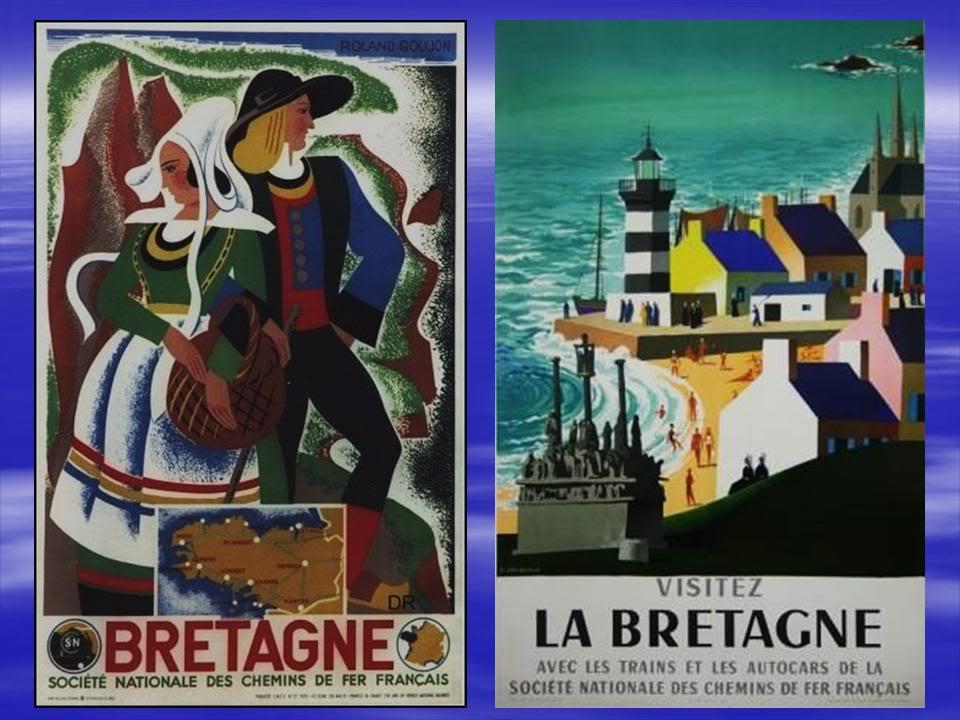 Affiches Ferroviaires de Bretagne et de l'Ouest Diapositive3-6