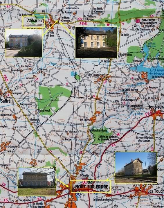 Nantes-Châteaubriant Inventaire des gares existantes en mars 2011 Diapositive4-5