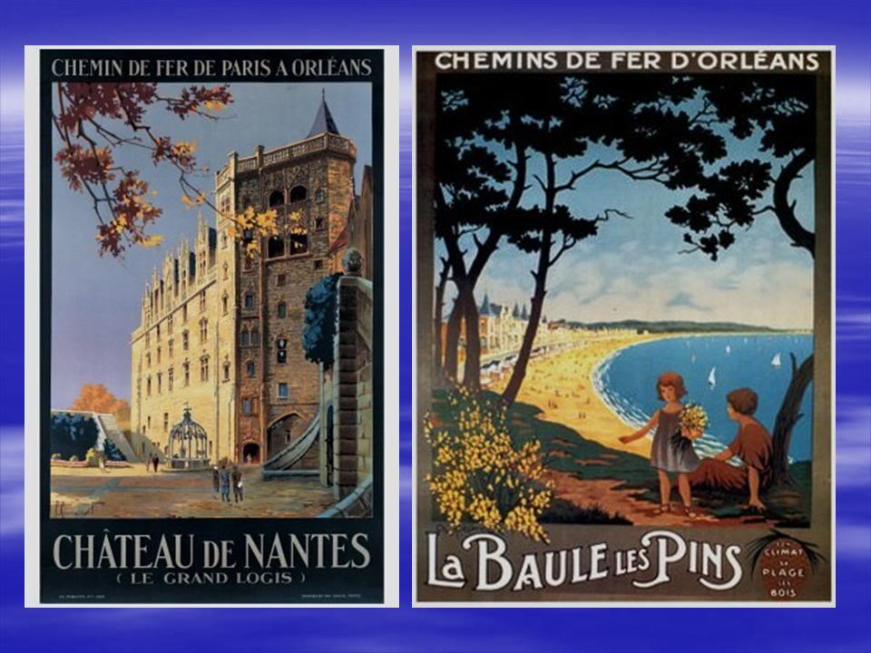 Affiches Ferroviaires de Bretagne et de l'Ouest Diapositive4-6